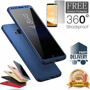 For Samsung Galaxy S7 S8 S9 Plus Note 8 Luxury Slim Shockproof Hybrid Case Cover