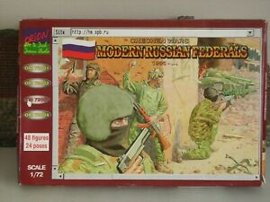 ORION72003 1/72 CHECHEN WARS MODERN RUSSIAN FEDERALS BOXED ON SPRU