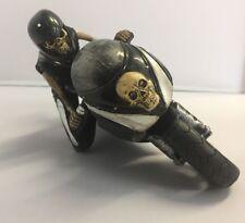 NEW SPEED REAPER SKELETON MOTORBIKE RIDER RESIN NEMESIS NOW ORNAMENT BOXED
