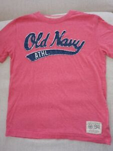 Boy's Old Navy Red Tee T shirt Size M