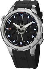 Perrelet Men's Turbine Yacht Black Dial Rubber Strap Automatic Watch A1066/4