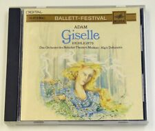 Adam: Giselle - Highlights - CD Made in West Germany