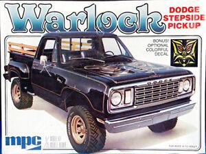 "MPC 1978 Dodge 4WD ""Stepside"" Pickup ""Warlock,"" Sealed"