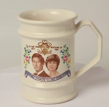 1981 Prince Charles Lady Diana Wedding Commemorative Mug Cup Jerrolds