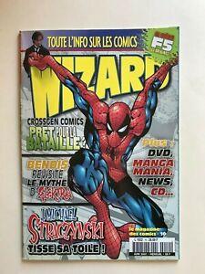 WIZARD Comics Magazine vol 1 #10  2001 French  Spider-Man Cvr