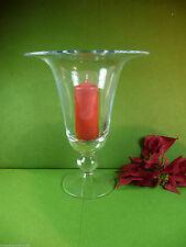 Deko-Kerzenständer & -Teelichthalter im Landhaus-Stil aus Glas Stumpenkerze