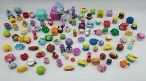 Shopkins Large Mixed Lot of 90+ Pieces & Happy Places Pony Gemicorn!