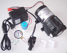 Reverse Osmosis RO 100 GPD Booster Pump ShutOff Switch