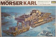 Hasegawa Morser Karl Ejército Alemán pistola de ferrocarril modelo Kit de 31032 en escala 1:72nd