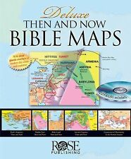 Deluxe Then and Now Bible Map Book with CD-ROM (2007, Mixed Media)