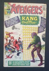 AVENGERS #8 • 1ST KANG • VERY GOOD+ OR BETTER • LOKI • ANT MAN: QUANTUMANIA