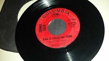 JOHNNY CASH What Is Truth / Sing A Traveling Song COLUMBIA 45134 COUNTRY 45