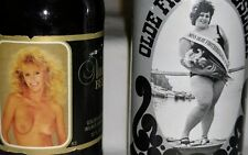 Vintage Collectible Beer Nude Beer Bottle And Olde Frothingslosh Can
