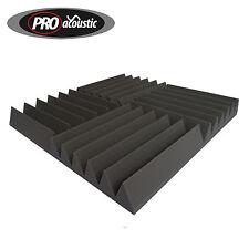 14x AFW100 Pro Acoustic Foam Wedge Tiles Professional Studio Sound Treatment