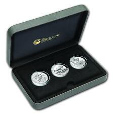 2015 Australia 3-Coin 1 oz Silver High Relief Proof Set - SKU #93867