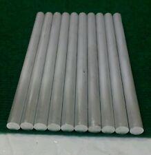 "1/2"" diameter X 8 long 6061 aluminum 10 piece lot round machinist tool cnc lathe"