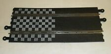 Scalextric C160 LONG STRAIGHT CHEQUERED FLAG TRACK Model Racing Classic Analogue