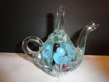 MAUDE AND BOB ST CLAIRE CONTROLLED BUBBLE TEAPOT SHAPED RING HOLDER