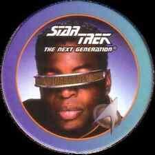 STAR TREK THE NEXT GENERATION, LIEUTENANT LA FORGE, STARTDISC POG MILK CAP, # 55