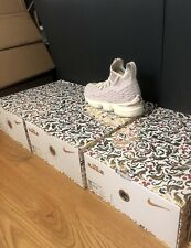 Nike KITH LeBron 15 Performance Rose Gold Size 13 Ronnie Fieg