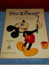 The Art Of Walt Disney by Christopher Finch Concise N A L Edition 1975 Softcover