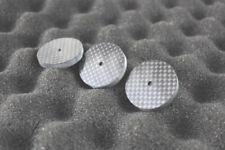 New Carbon Fiber speaker Spike Stand Base 3 PCS 33mm For CD Amplifier Isolator