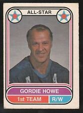 1975-76 O-PEE-CHEE WHA #66 GORDIE HOWE HOUSTON AEROS HOCKEY CARD EX/MT