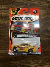 Matchbox 2001 Ford Falcon Taxi Diecast Car Lot: New In Package!