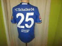 "FC Schalke 04 Adidas Heim Trikot 2016/17 ""GAZPROM"" + Nr.25 Harit Gr.176- S Neu"