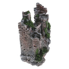 Castles Aquarium Decorations Resin Castle Villa Ornaments Fish Tank Aquarium