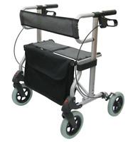 Leichtgewichtsrollator Magic S Rollator leicht faltbar inkl. Tasche, Rückengurt