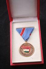 Hungary Hungarian KISz Communist Union Youth Loyalty Merit Box Medal People