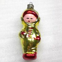 Antique Vintage Russian Glass USSR Christmas Ornament Tree Decoration Astronaut