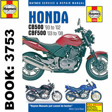 Honda CB500 1993-2002 CBF500 2003-08 Haynes Workshop Manual