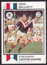 Scanlens 1974 Season NRL & Rugby League Trading Cards