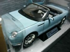 WOW EXTREMELY RARE Ford Thunderbird V8 2003 Sky Blue 1:18 Minichamps-Auto Art/GT