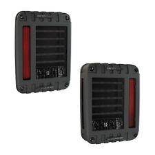 JW Speaker Black 279 J Series LED Tail Lights 07-16 Jeep Wrangler JK