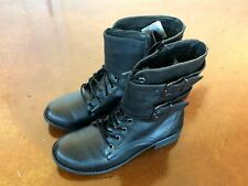 NEW TWO LIPS TOO BLACK WOMEN'S BOOTS SIZE US 8.5 M