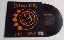 "Blink 182 not now 7"" vinyle 2005"