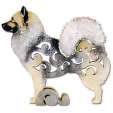 Eurasier dog figurine, dog statue made of wood (Mdf), hand-paint