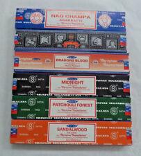 Satya Nag Champa Incense Sticks Variety Best Seller Set #1: 6 x 15 gram 90 total