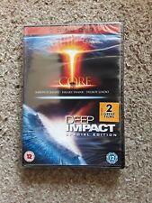 The Core / Deep Impact (DVD, 2008, 2-Disc Set, Box Set) New Sealed Freepost