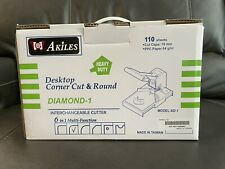 Akiles Diamond 1 Desktop Corner Cut Amp Round Model Ad 1