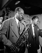 Jazz Saxophonist Coleman Hawkins Three Deuces 8x10 Silver Halide Photo Print