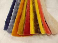 10 Colors Vintage Antique Long Pile Miniature Mini Bear Velvet Rayon Fur Fabric