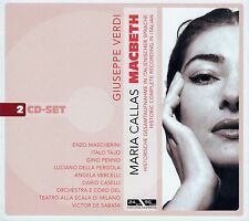 GIUSEPPE VERDI : MACBETH - MARIA CALLAS / 2 CD-SET - TOP-ZUSTAND