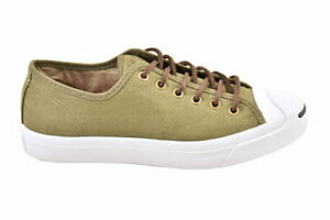 Converse Unisex Jack Purcell Canvas OX Surplus Trainers Green