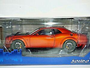 Solido Models Dodge Challenger SRT Hellcat Redeye Widebody