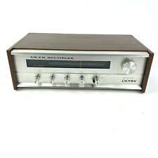 Vintage Denon Model Mx -990A Am/Fm Multiplex Receiver Tested & Working