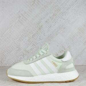 Womens Adidas i-5923 Boost Aero Green/White/Gum Trainers (SF1) RRP £99.99